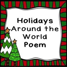 Holidays around the world: This fun FREEBIE will help your kiddos  remember the important facts about holidays around the world.  Enjoy!  Here is the link to our  December Word of the Day Calendar that has these words that you can introduce daily.  December Word of the Day Calendar  Follow us to be notified of all the brand new songs and products coming soon.