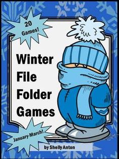 Your students will love these winter file folder game activities. There are 20 printable winter games for a wonderful winter theme from January through March! Wow!