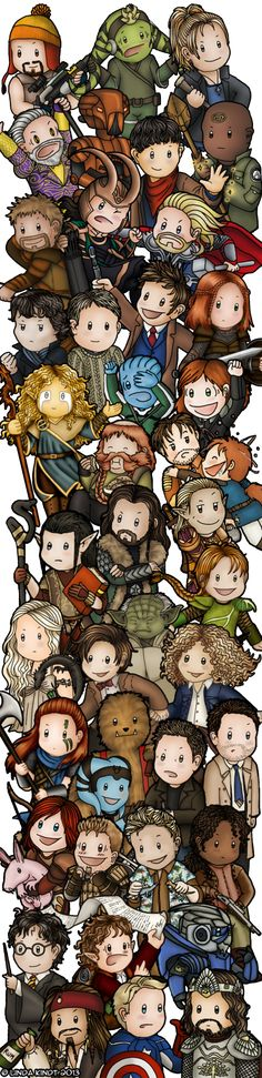 Multi Fandom Mess by isriana.deviantar... (Click for character list)