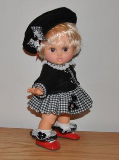 Scotty Dog Set for Baby Face Dolls.