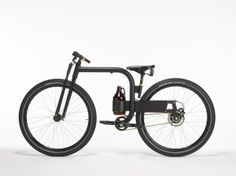 Love the bold lines of the GROWLER city bike by Joey Ruiter #bicycle #design #awesome