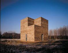 Turm, Architektur Erwin Heerich, Foto: Tomas Riehle