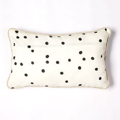 poppy spot cushion Big People, Little People, Bed Pillows, Cushions, Poppy, Soda, Printing On Fabric, Stitch, Unique