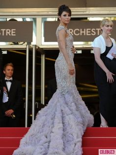 Eva Longoria Cannes 2012 - I would wear this as a wedding dress! Amaze.