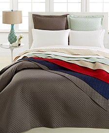 Charter Club Bedding, Damask Quilted 3-Pc. Coverlet Set, Only at Macy's