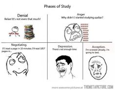 This is me right now...i am currently in Denial!!!