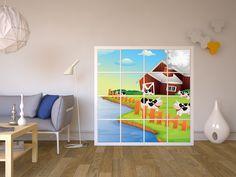 Kinderzimmer ikea kallax  Möbelfolie für Kallax 4 Türelemente | Klebefolie, Ikea und Bunt