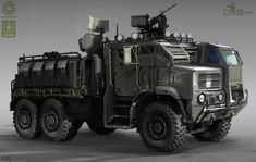 Wartruck by Min-Nguen on DeviantArt Army Vehicles, Armored Vehicles, Tank Armor, Armored Truck, Starship Troopers, Bug Out Vehicle, Concept Weapons, Futuristic Cars, Panzer