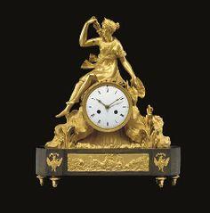 Retro Clock, Vintage Clocks, Antique Clocks, Shabby Chic Art, Mantel Clocks, Objet D'art, Rococo, Archer, Stairways