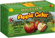 Happy National Apple Month! #tea #bigelowtea