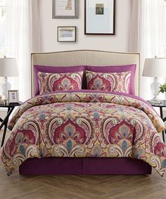 Take a look at this Alexa Eight-Piece Comforter Set today!