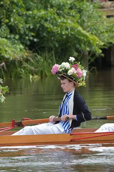 Eton College Procession of Boats. by Mark Draisey Photography