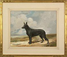 Dog art: Ch. Giraldaâ??s Susan, 1934