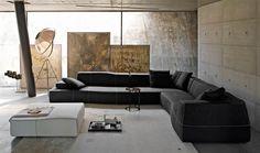 Sofa: BEND-SOFA - Collection: B&B Italia - Design: Patricia Urquiola