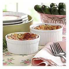 Sues Zucchini Soufflé from Through the Country Door®
