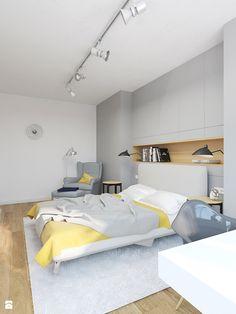 MIESZKANIE 49,5M² – POZNAŃ - Sypialnia, styl nowoczesny - zdjęcie od Devangari Design
