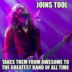 Justin chancellor Justin Chancellor, Tool Music, Tool Band, Rock Artists, A Perfect Circle, Weird World, Great Bands, Rock And Roll, Bass