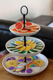 Cookies with Character: Madison's Rainbow Birthday