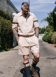 Vintage inspired menswear made in America. Quality made leather goods Sock Suspenders, Leather Suspenders, Daniel Sheehan, Mens Onesie, Mens Lace Up Boots, Fashion Boots, Mens Fashion, Summer Looks, Streetwear Fashion