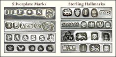 silver spoon makers | ... hallmarks explained london date letters 1696 1935 maker s marks