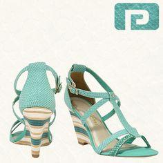 2280924f16 10cm de altura de puro glamour nesse verão! Aposte!  69.99  pontal   calçados  Sapatos  sandália  anabela  verão  fashionp
