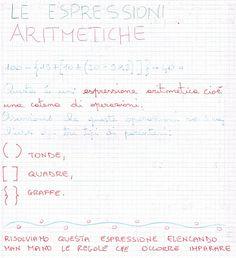 Didattica Scuola Primaria: Le espressioni aritmetiche
