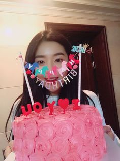 Imagem de red velvet, irene, and joy Seulgi, Birthday Bash, Happy Birthday, Surprise Birthday, Cake Birthday, Red Velvet Birthday Cake, Irene Red Velvet, Just Girl Things, Random Things