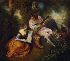 Jean-Honoré Fragonard Rococo Era painter .