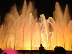Fountain of Montjuic, Barcelona