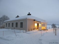 Winter in Lahti, Finland Finland, Gazebo, Shed, Outdoor Structures, Cabin, House Styles, Winter, Home Decor, Winter Time
