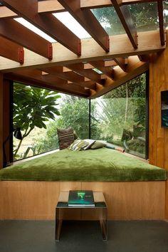 landscape architecture - Inspirational Ideas for Cozy Window Seat jihanshanum Interior Exterior, Home Interior Design, Modern Interior, Room Interior, Interior Ideas, Interior Garden, Interior Lighting, Modern Luxury, Decoration Design
