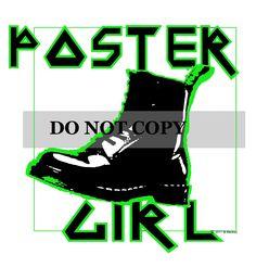 Poster Girl print
