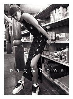 Malgosia Bela & Binx Walton for Rag & Bone SS 2016 Campaign by Glen Luchford