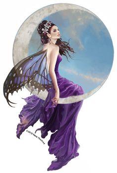 amethyst fairy moon