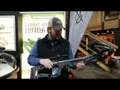 Nate Hosie shows off the features of the new crossbow from Barnett, the RAZR, which is only pounds but still extremely stable. Bow Hunting Tips, Deer Hunting, Crossbow Hunting, Survival, Feather, Bows, Awesome, Accessories, Arches