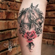 View a selection of my latest tattoos and illustrations. Latest Tattoos, Great Tattoos, Beautiful Tattoos, Arm Tattoos Horse, Animal Tattoos, Horse Tattoo Design, Tattoo Designs, Tattoo Ideas, Horse Flowers