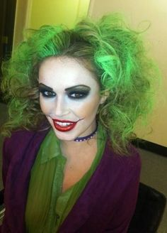 ultimate lady joker halloween costume sexy and stunning - Stunning Halloween Costumes