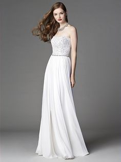After Six Wedding Dress 1049 http://www.dessy.com/dresses/wedding/1049/#.VF0KUJG9KK0 $550