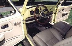 1974 VW Bug Custom Leather Interior