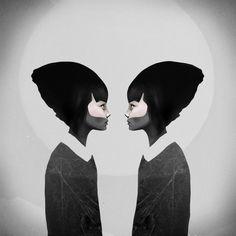 emeeme: Las inquietantes ilustraciones de Ruben Ireland