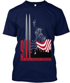 9/11 Tuesday Children Navy T-Shirt Front https://teespring.com/9-11-tuesday-children#pid=2&cid=576&sid=front