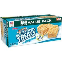 $1.00 off 2 Rice Krispies Treats® or Fruit Snacks Printable Coupon Plus Walmart Matchup!