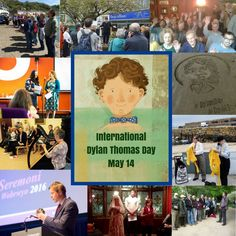 What is happening on International Dylan Thomas Day on May Hannah Ellis, Dylan Thomas, My Father, Welsh, Shit Happens, Day, Blog, Welsh Language, Blogging
