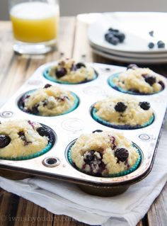 Quick Blueberry Muffins - I Wash You Dry