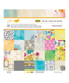 Look at this Amy Tangerine Sketchbook Paper Set on #zulily today!