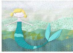 personalized mermaid themed party