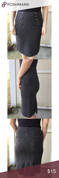 Pencil skirt Size 9 high waisted pencil skirt! Great condition and still has a long life ahead! Very classy! A. Byer Skirts Pencil