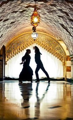 Flamenco is pretty much the ultimate improv passion dance - solo or with partner