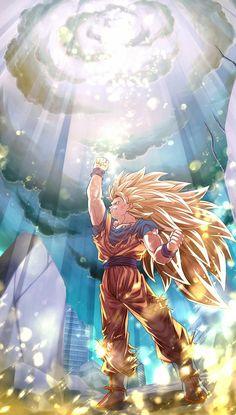 Goku By: mattari_illust Dragon Ball Gt, Dragon Ball Image, Anime Goku, Manga Anime, Manga Girl, Anime Girls, Anime Art, Image Dbz, Goku Wallpaper
