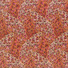 Hoffman - Sonja Bohemian Feather Poppy M7442-224G
